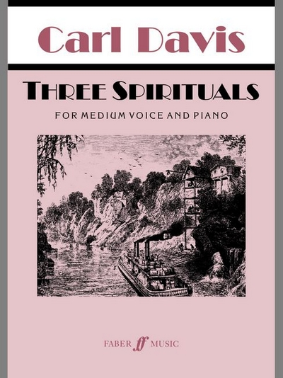 3 Spirituals (Medium Voice And Piano)