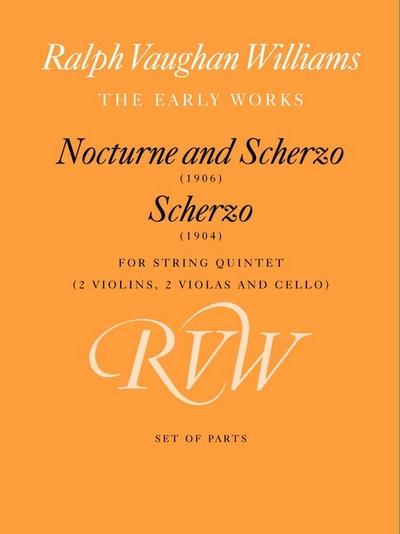 Nocturne And Scherzo, And Scherzo (Parts)