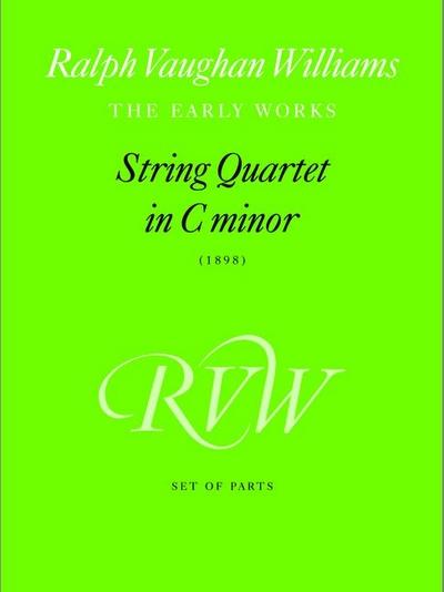 String Quartet In C Minor (Parts)