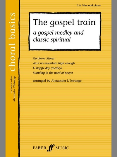 Gospel Train, The. Sa/Men Acc. (Cbs)