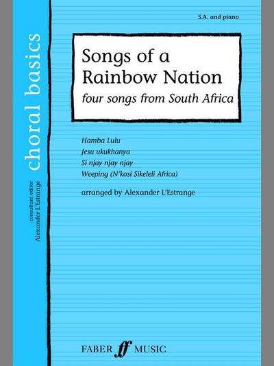 Songs Of A Rainbow Nation. Sa Acc. (Cbs)