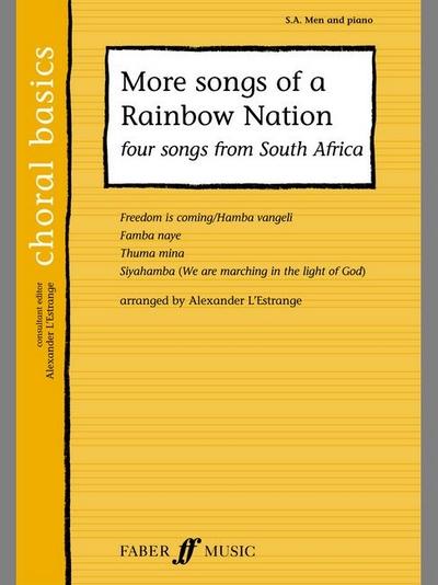 More Songs Of A Rainbow Nation Sa/Men