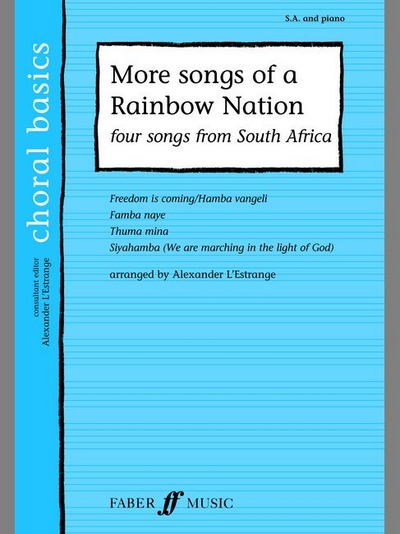 More Songs Of A Rainbow Nation Sa Acc.