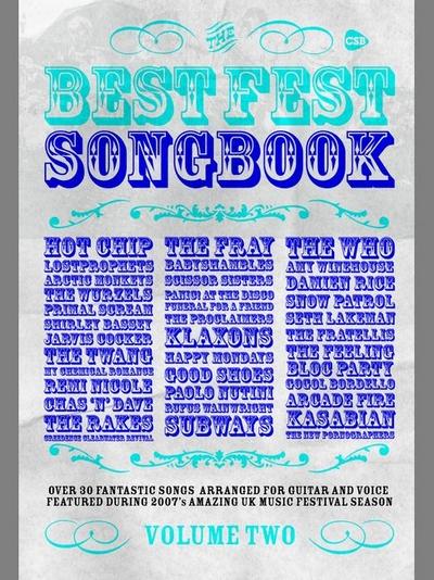Best Fest Songbook Vol.2 - Chord Songbk