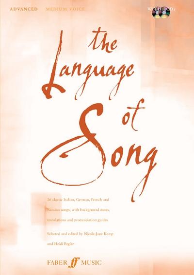 Language Of Song: Advanced (Medium Voice