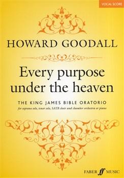 Every Purpose Under The Heaven (Vocal Score)