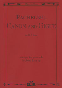 Canon And Gigue / Pachelbel - Piano