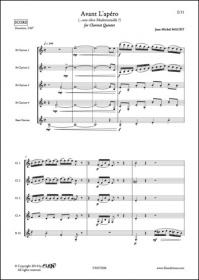 Avant L'Apéro - J. M. Maury - Quintette De Clarinettes