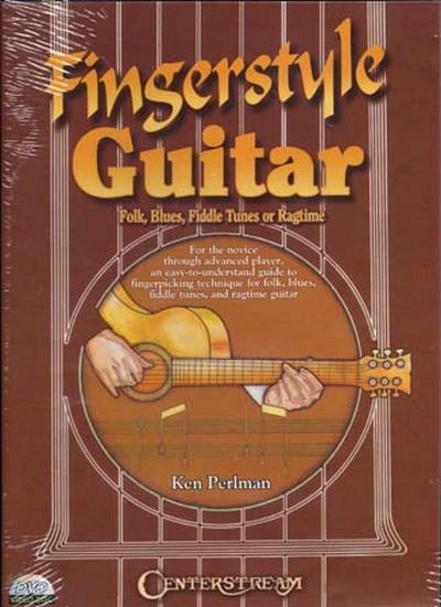 Dvd Fingerstyle Guitar Folk Blues Fiddle Tunes Ragtime