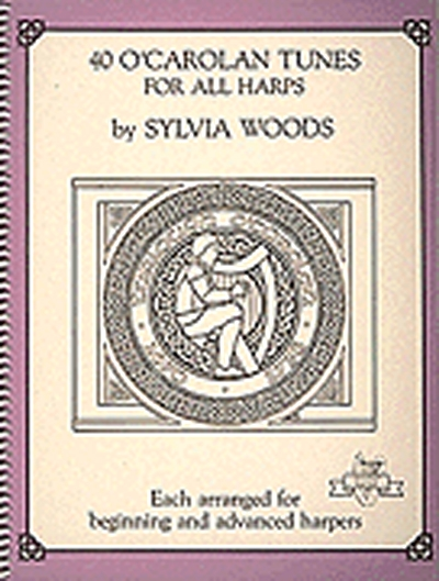 40 O'Carolan Tunes For All Harps S. Woods