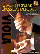 15 Most Popular Classical Melodies Viola Cd