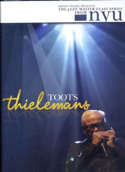 Dvd Jazz Master Class Series Toots Thielemans