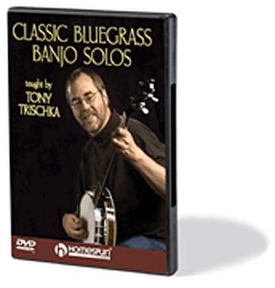 Dvd Banjo Classic Bluegrass Solos Trischka