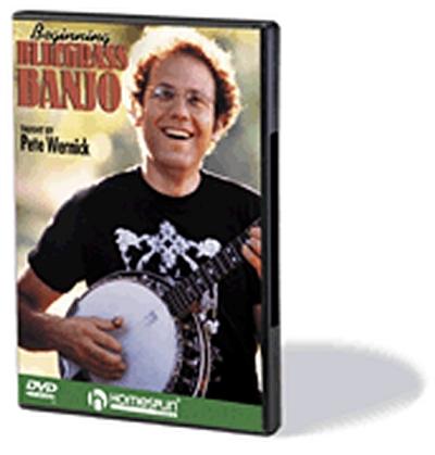 Dvd Beginning Bluegrass Banjo P. Wernick