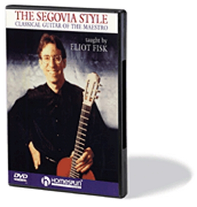 Dvd Segovia Style Eliot Fisk