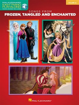 Easy Piano Play Along Vol.32 : Songs From Frozen Tangled And Enchanted (La reine des neiges)