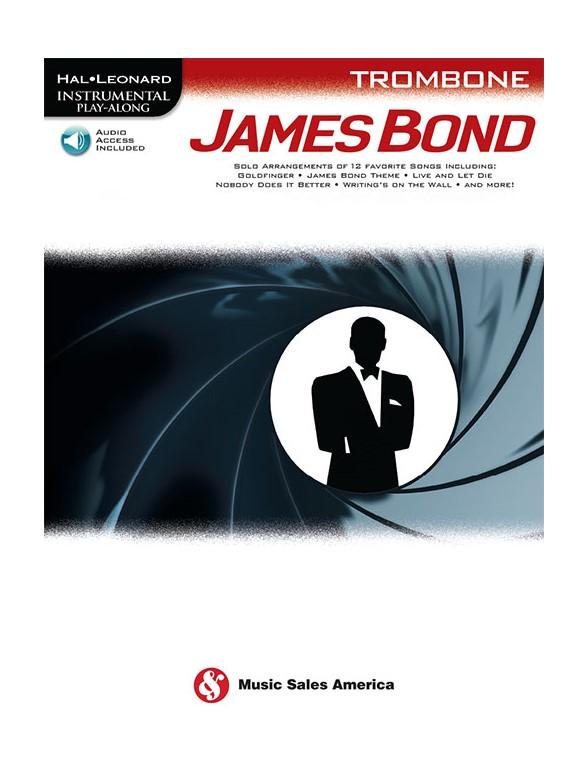 Hal Leonard Instrumental Play Along : James Bond - Book-Online Audio