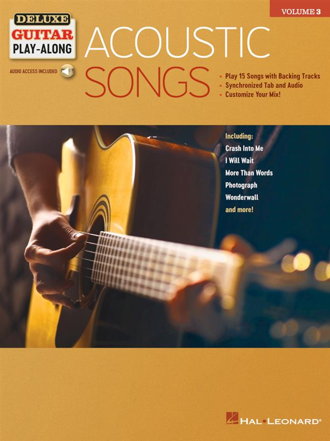 Acoustic Songs - Deluxe Guitar Play-Along Vol.3