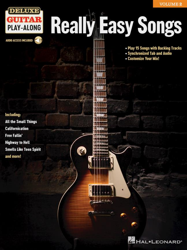 Really Easy Songs - Deluxe Guitar Play-Along Vol.2