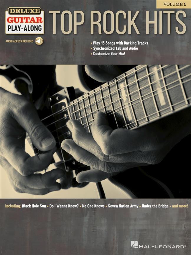 Top Rock Hits - Deluxe Guitar Play-Along Vol.1