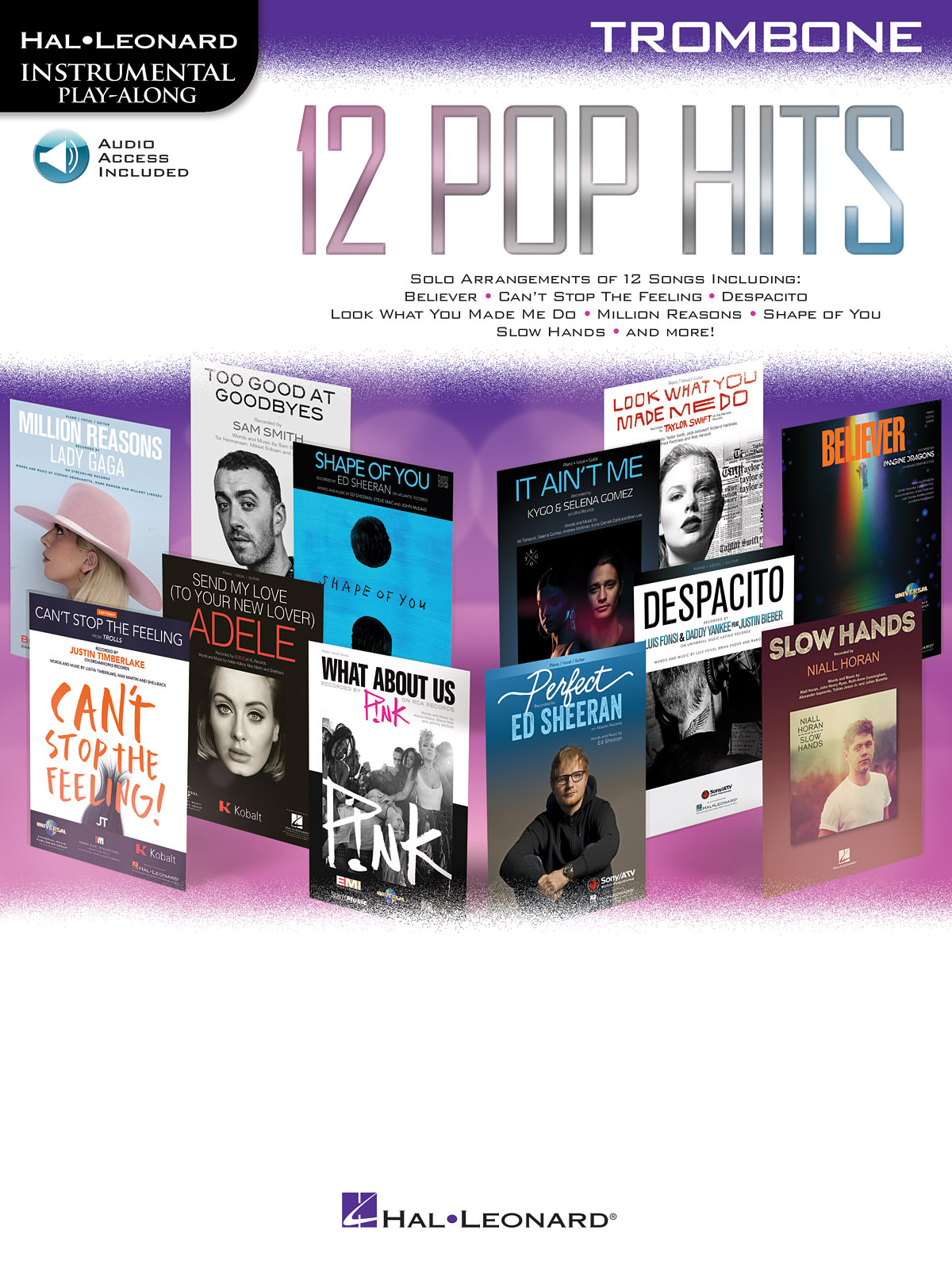 Instrumental Play Along : 12 Pop Hits