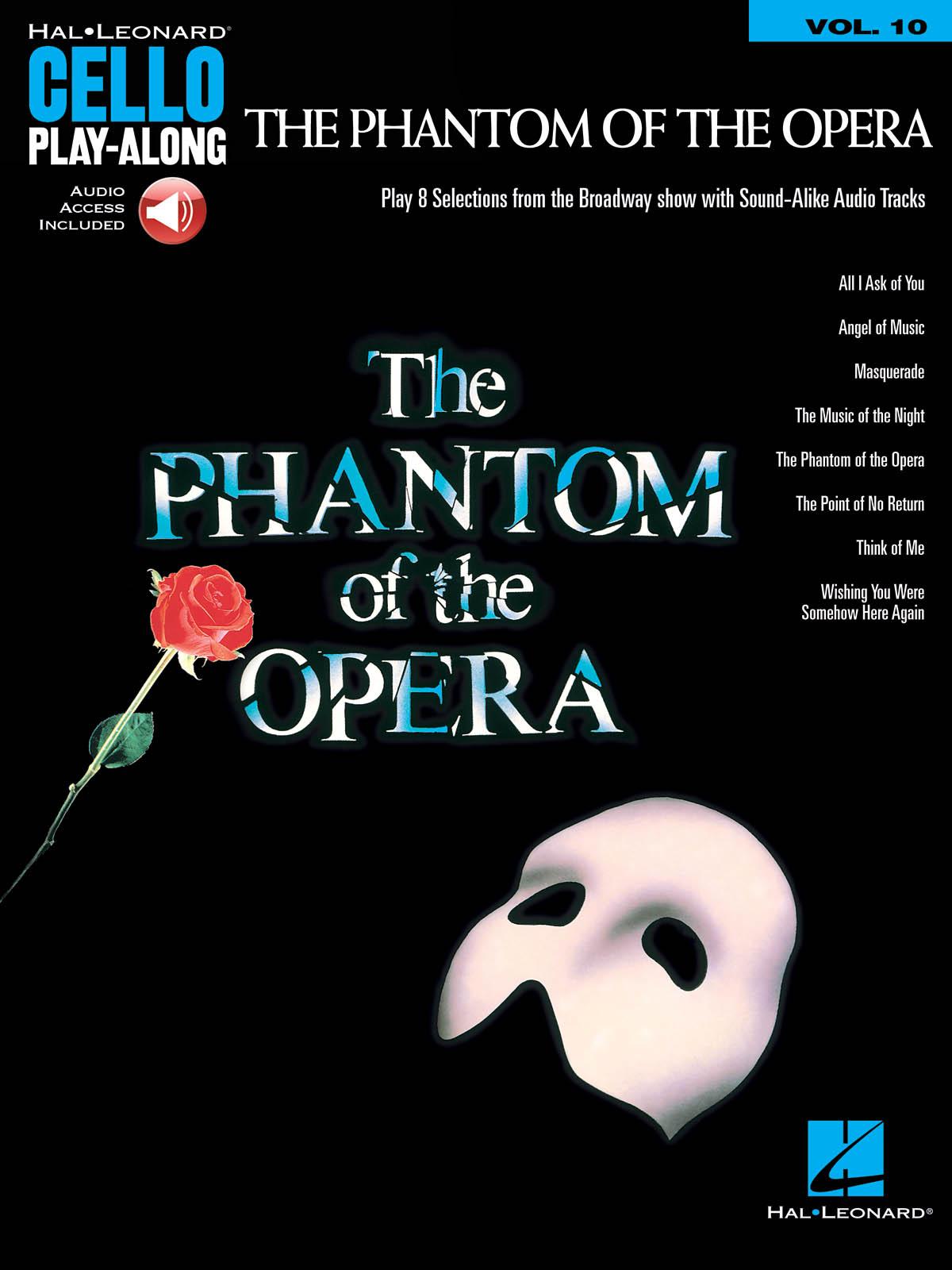 The Phantom Of The Opera Play Along Vol.10