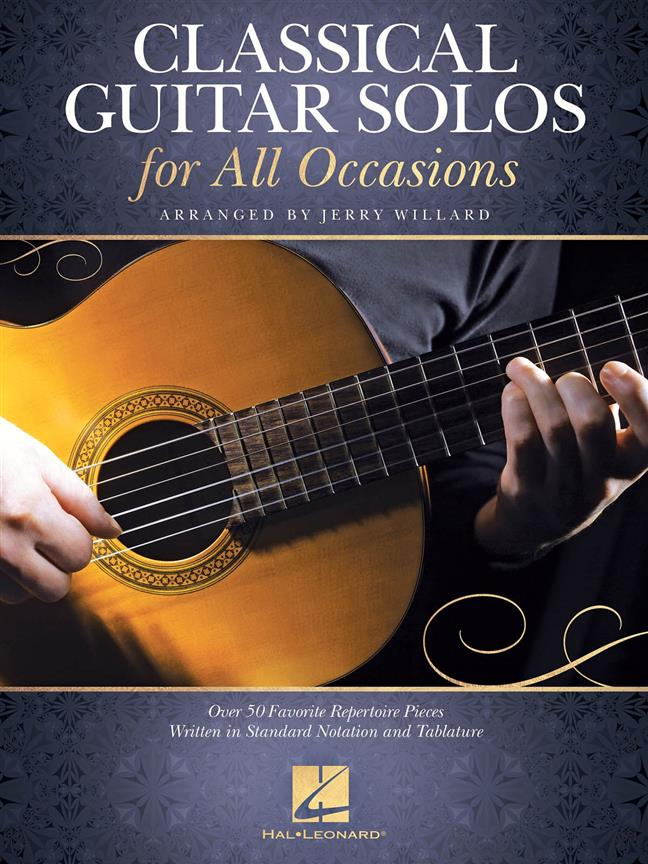 Classical Guitar Solos For All Occassions