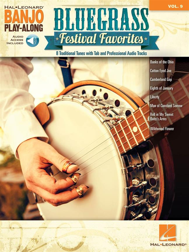 Bluegrass Festival Favorites Banjo Play Along Vol.9