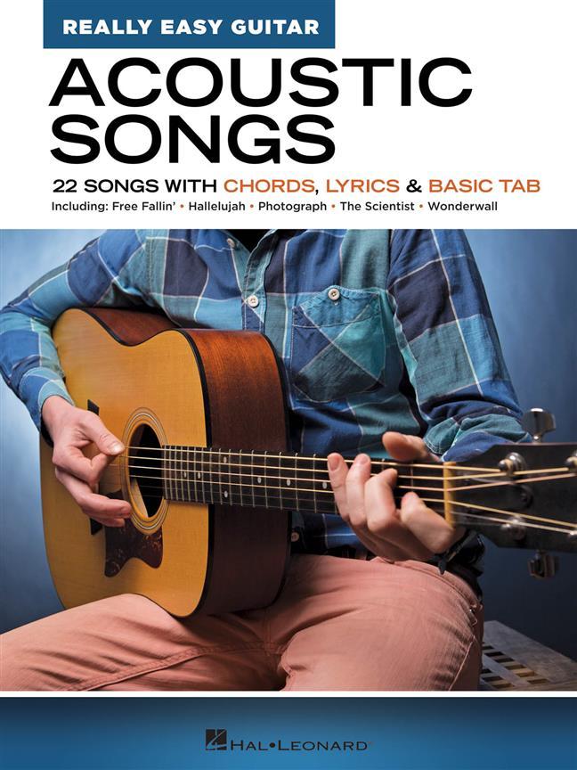 Acoustic Songs - Really Easy Guitar Series