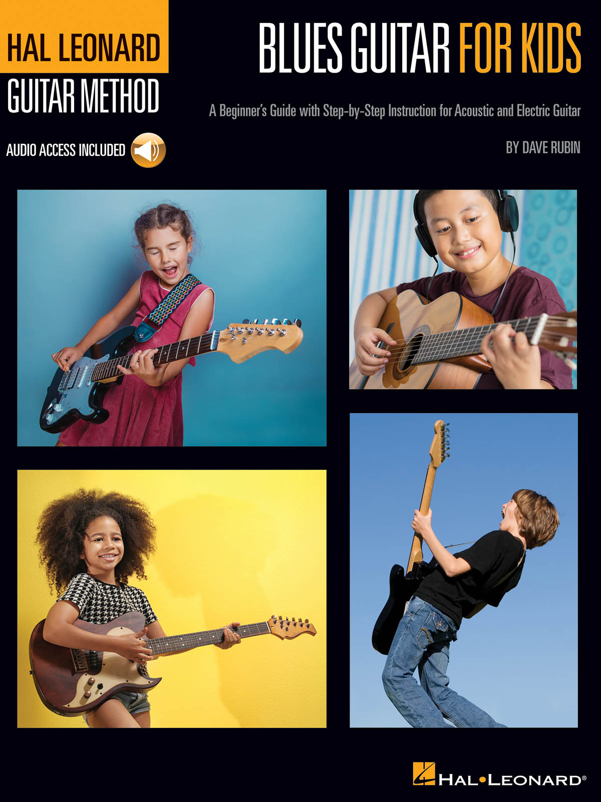 Hal Leonard Guitar Method - Blues Guitar For Kids