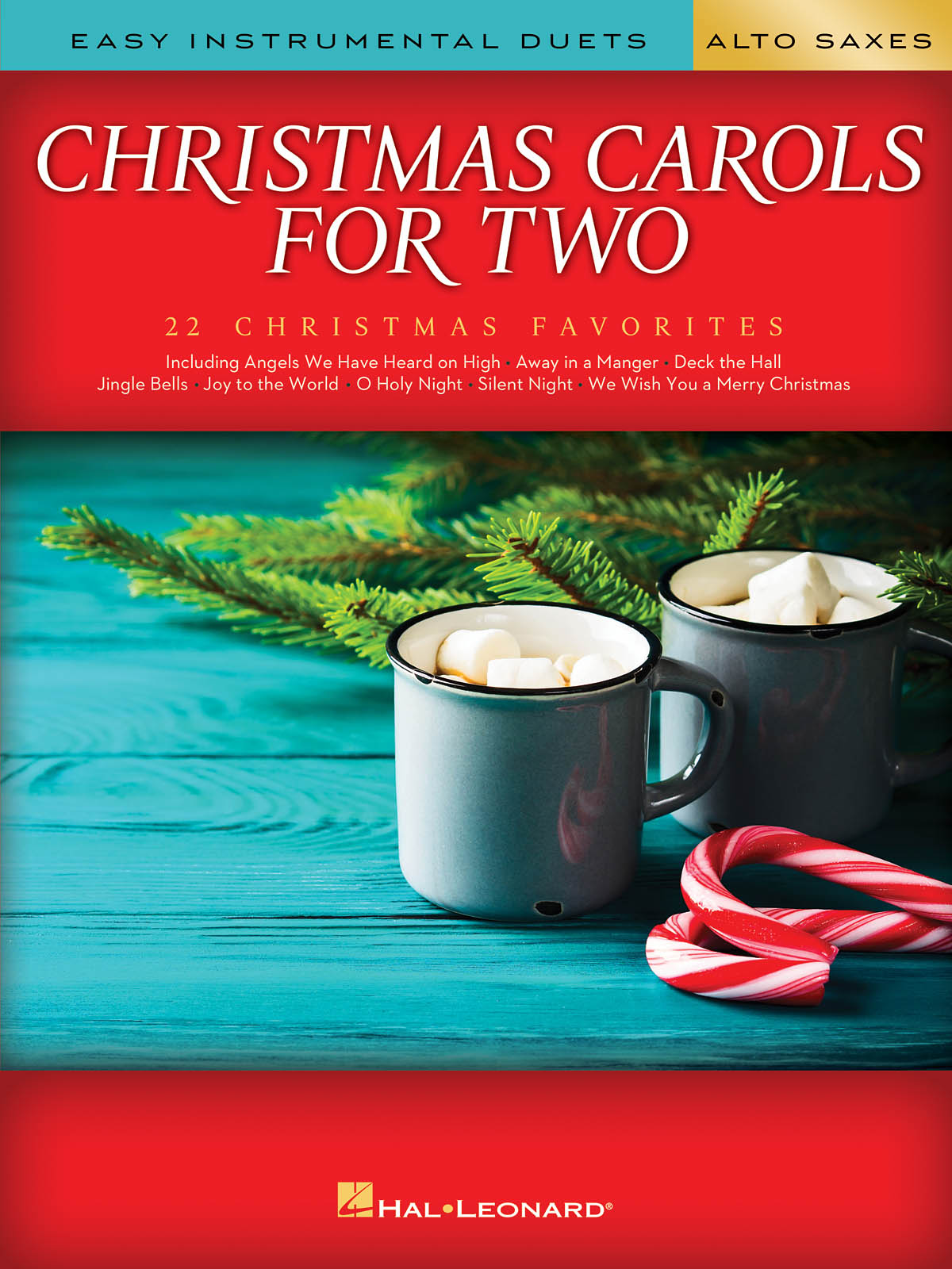 Christmas Carols For Two Alto Saxes