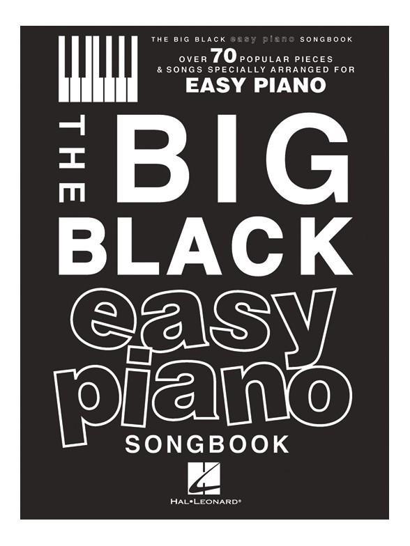 The Big Black Easy Piano Songbook