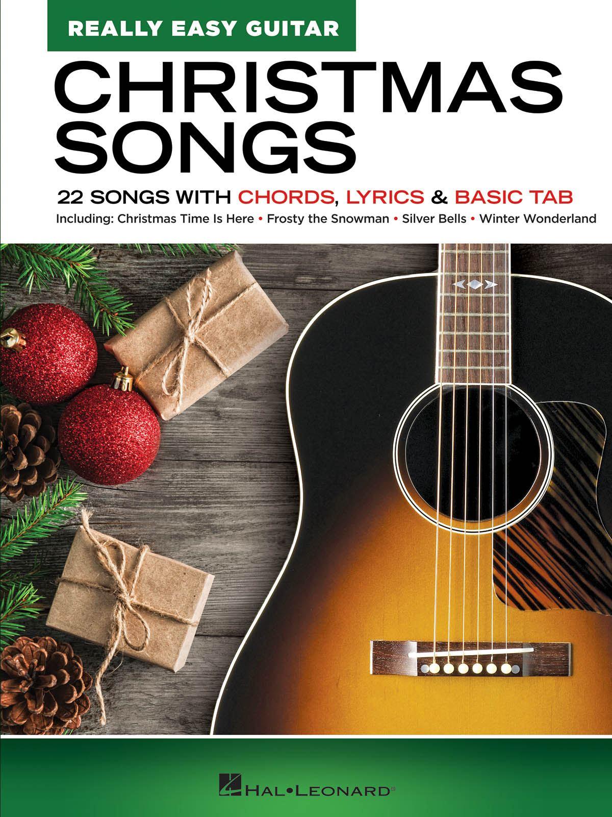 Christmas Songs - Really Easy Guitar Series