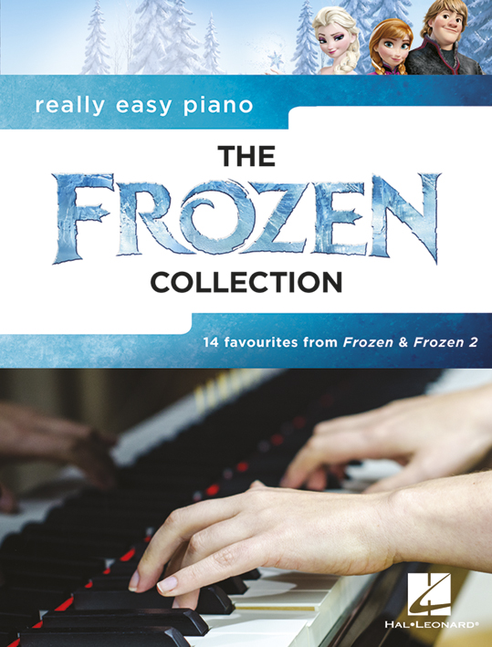 Really Easy Piano: The Frozen Collection (La reine des neiges)