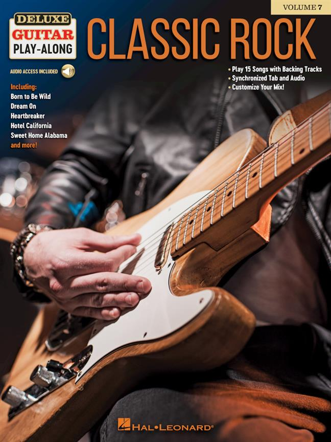 Classic Rock Deluxe Guitar Play-Along Volume 7