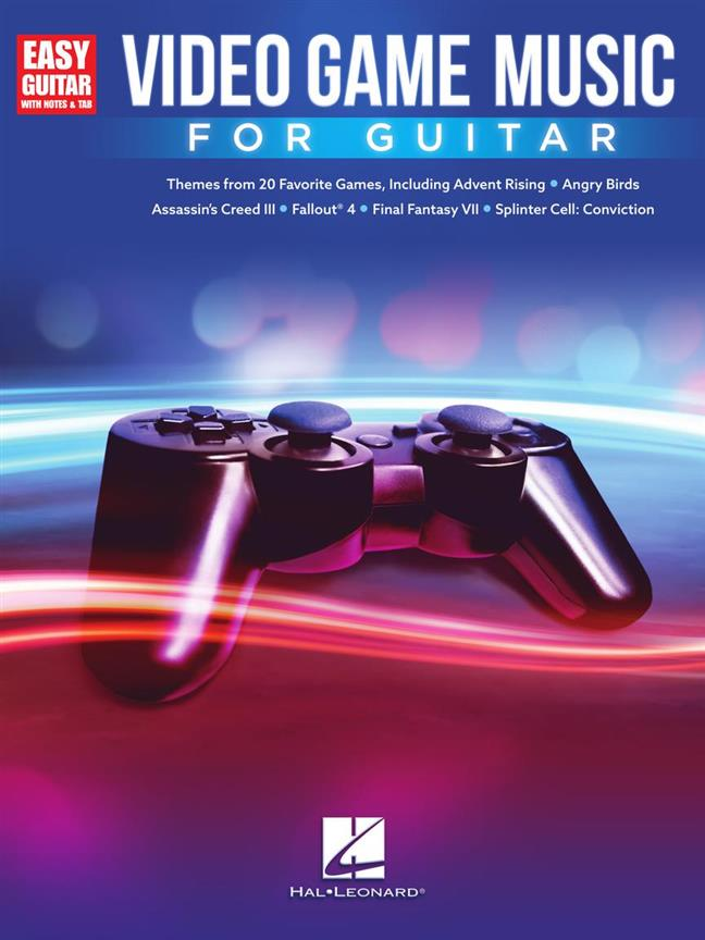Video Game Music for Guitar