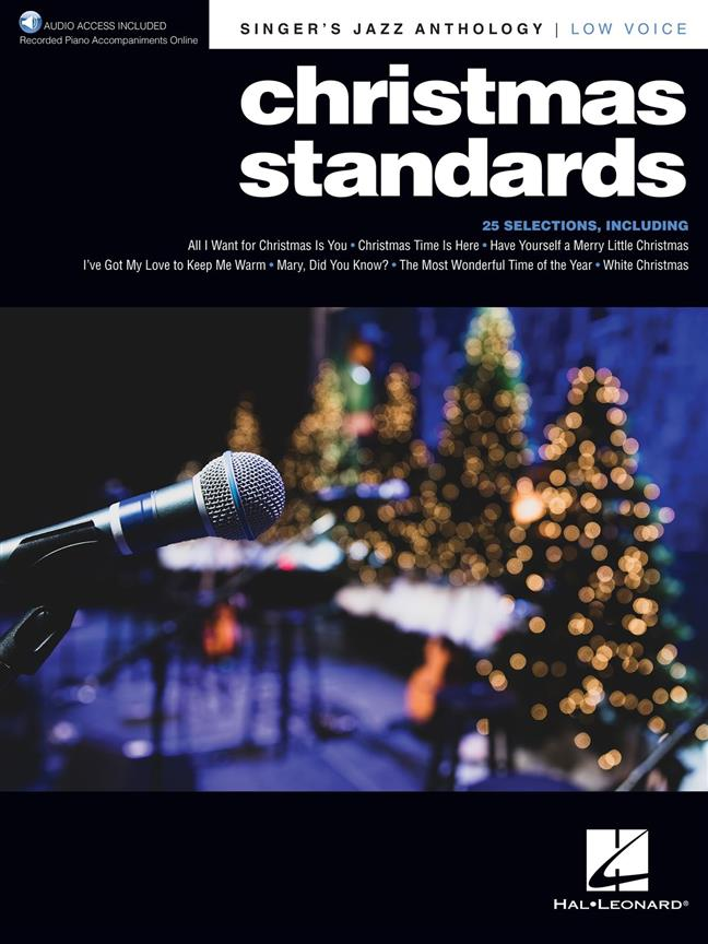 Christmas Standards Singer's Jazz Anthology