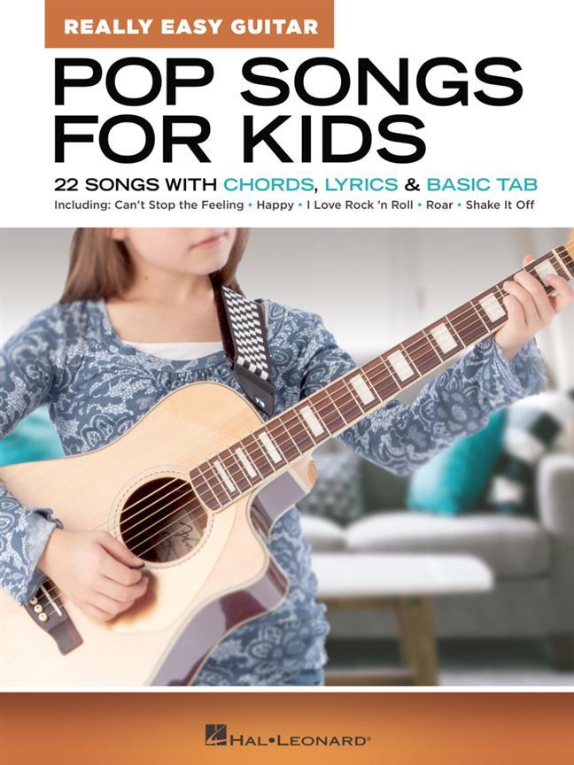 Pop Songs for Kids - Really Easy Guitar Series
