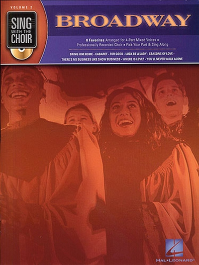 Sing With Choir 2 Broadway+Cd