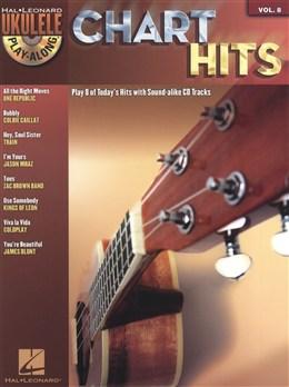 Chart Hits - Ukulele Play-Along Vol.8