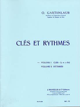 Clés Et Rythmes Vol.1 : 5 Clés Et 7 Clés