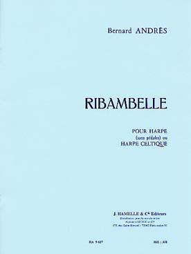 Ribambelle 10 Pieces Faciles Pour Harpe Ou Harpe Celtique