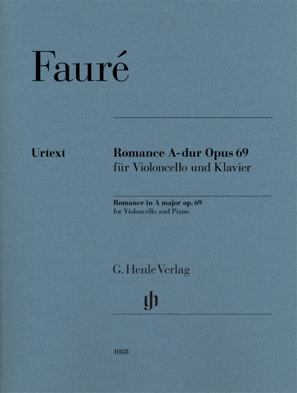 Romance En La Majeur Op. 69 Pour Violoncelle Et Piano
