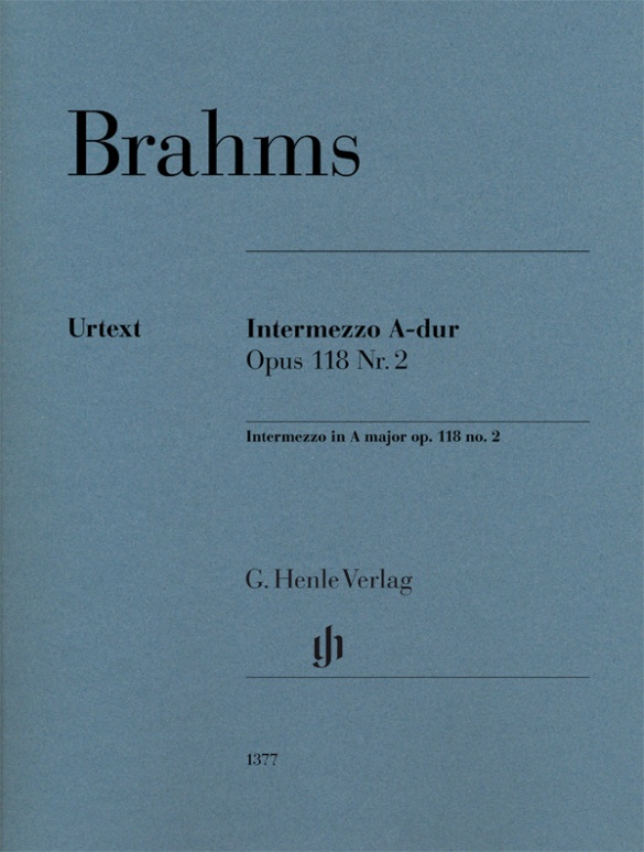 Intermezzo In A Major Op. 118 No. 2