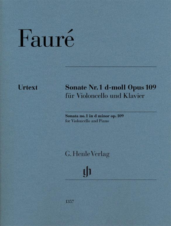 Sonata No. 1 In D Minor Op. 109 For Violoncello And Piano