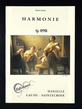 Harmonie 2ème Annee Cy098