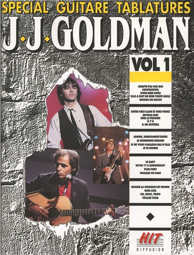 Spécial Guitare Tablatures Vol.1
