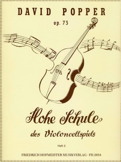 Hohe Schule Des Violoncellospiels, Op. 73, Heft 3