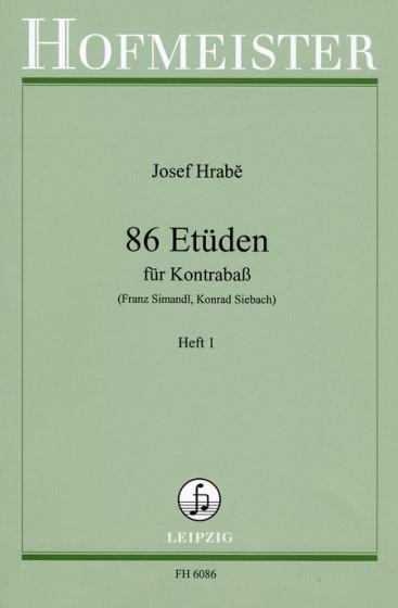 86 Etuden, Heft 1