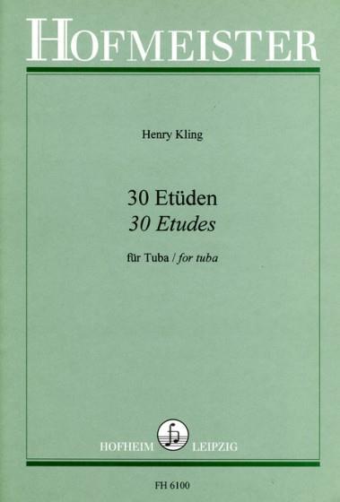 30 Etüden